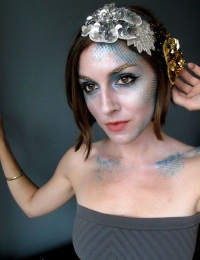 Fish Face Makeup Fish Mermaid Makeup