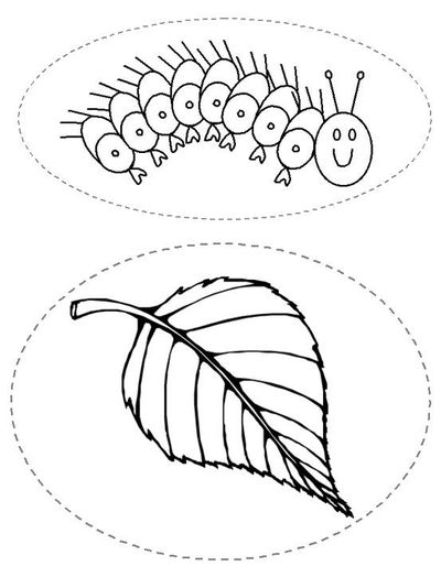 THE VERY HUNGRY CATERPILLAR story printables