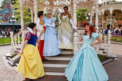 �œ� Disney Princesses. Disneyland, Paris, France.