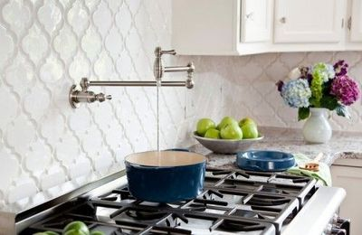 over the stove pot filler faucet