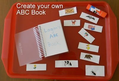 Great DIY Alphabet Book - perfect for young preschoolers.
