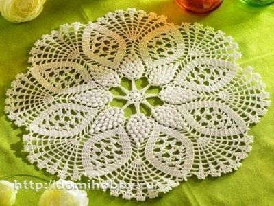 10 Russian charted doily patterns