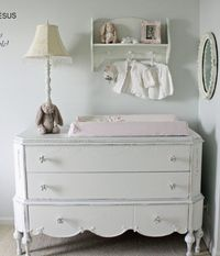 vintage changing table