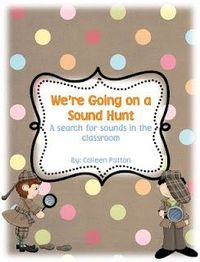 I've added a new activity to my word work station. My students were begging me to find other ways to use our mini-clipboards, so I came up with the idea of a sound hunt. It will send my students around the room searching for beginning, middle or endin...