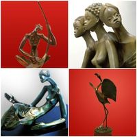 Alfred Liyolo: A great sculptor from the Democratic Republic of Congo - http://www.maitreliyolo.com/
