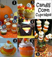 31 candy corn cupcakes, treats, and crafts