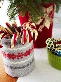 Christmas Container Covers