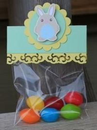 """Surprise your kids with """"magical"""" jelly beans! You can leave the little bags of jelly beans in Easter baskets or, the day before Easter, tell your kids the jelly beans are magical and have them plant the beans outside. The next morning before yo..."""
