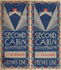 french cruise ticket
