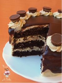 Bird On A Cake: Reese's Peanut Butter Chocolate Cake