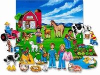 Fun on the Farm Felt Flannel Board Set