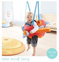 airplane swing for baby.. too cute!