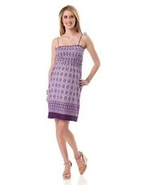 Sleeveless Smocked Maternity Dress $19.99