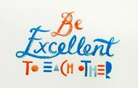 beautiful stitched type by Maricor and Maricar Manalo (via The Design Files)