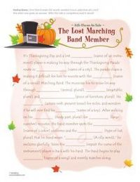 graphic about Thanksgiving Mad Libs Printable identified as Content articles identical toward: Thanksgiving Crazy Libs for Little ones! Printable