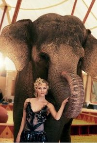 Pretty shoot with Rosie from Water For Elephants