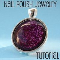 Nail Polish Jewelry Tutorial