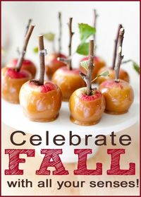 Celebrate Fall with all your senses #fall #family ideas