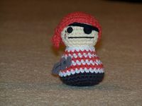 Pirate amigurumi