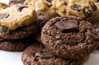 Gluten-free and vegan with that classic chocolate chip cookie deliciousness!