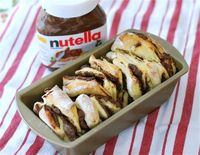 The Ultimate in Decadant Desserts: Salted Nutella Pull-Apart Bread