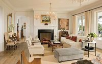 Celebrity Living Rooms : Celebrity Style : Architectural Digest