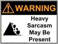 Consider yourself warned...