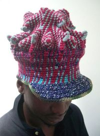The next hat I crochet for James.