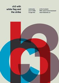 swissted-Typographic Posters by Mike Joyce