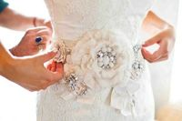 this lace dress is accessorized to perfection Photography by blueberryphotography.com