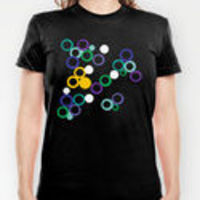 Ring toss t-shirt celebrating the spirit of the olympic games