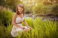 Glorious location with wonderful light. Lighting was sunlight behind, large silver reflector front and an LED flashlight.ST by enchantedimages2003, via Flickr