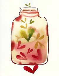 Jar of Pickled Hearts ~