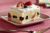 Low-Fat Berry Squares