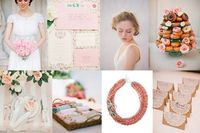 Sweet pink wedding inspiration | Glamour & Grace