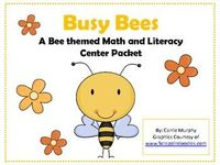 This Bee themed math and literacy packet includes 13 file folder games for you to print, cut, attach to a folder, laminate and use in your classroo...