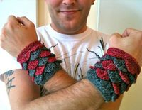 Brent's Dragon Cuffs