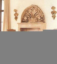 French antique maquette and mantel; Bill Gardner