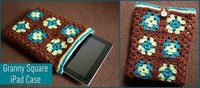 granny square ipad cover