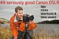49 seriously good Canon DSLR tips, tricks, shortcuts & time savers. Start improving your #photography by learning how to get more from your Canon camera.