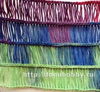 A new crochet stitch using a ruler...Cool pictorial tutorial (use Google Translate to convert to English)
