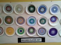 Record Player Art-a favorite :-)