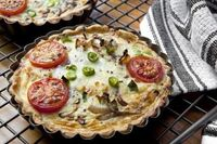 G-Free Friday: Vegetable Crustless Quiche, Wholeliving.com
