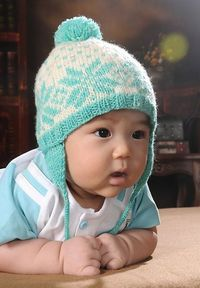 3d24570c6 Posts similar to: Ravelry: Marabou Pigtails Baby Hat pattern by ...