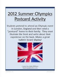 Classroom Freebies Too: Summer Olympic Activity Ideas & Freebie