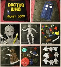 The Doctor Who Quiet Book