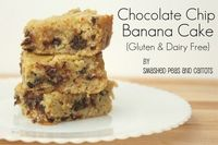 Chocolate Chip Banana Cake {Gluten & Diary Free Versions too!}-RECIPE