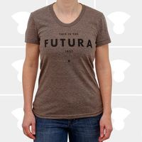 Futura Women's Tee Brown by Medium Control