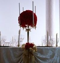 Beauty and the Beast Style Centerpiece