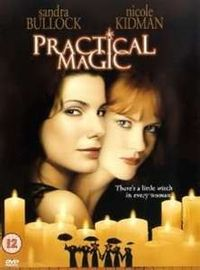 Practical Magic, one of my favorite witch movies. I love when she blows on the candle and it flames up.